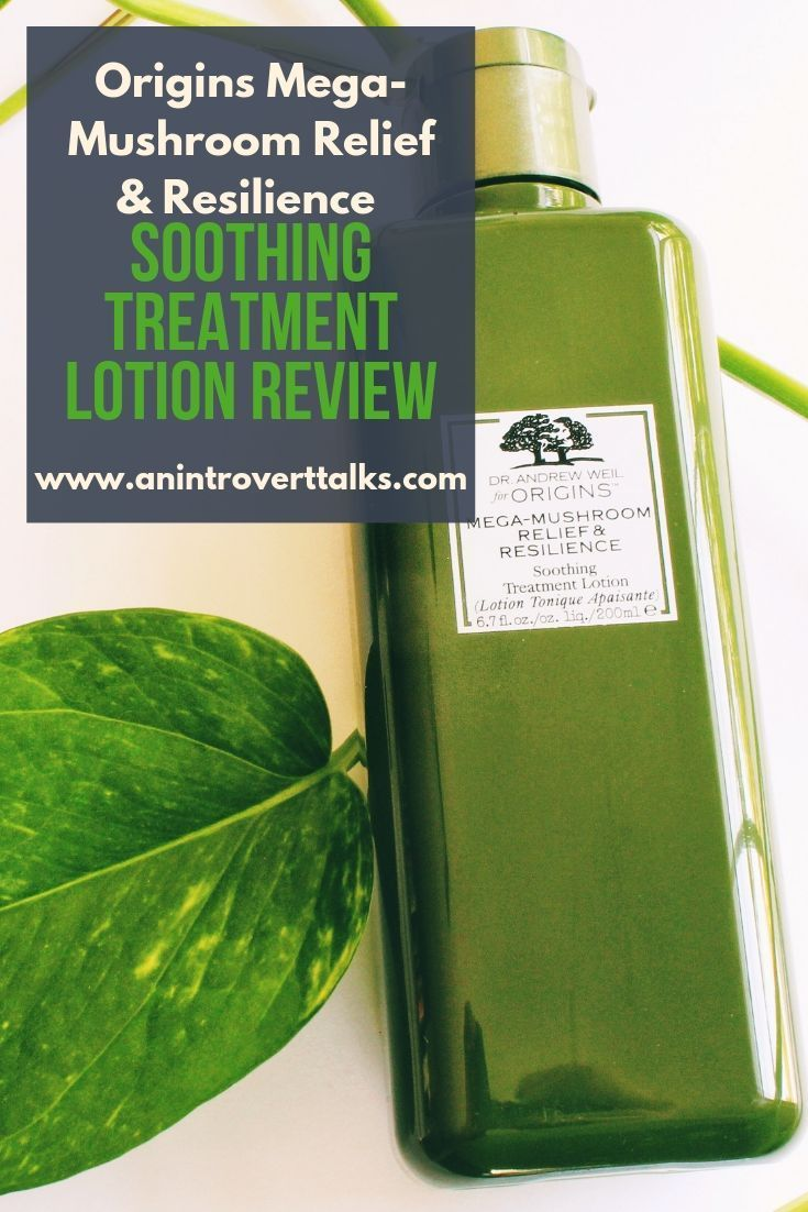Origins Mega-Mushroom Relief & Resilience Soothing Treatment Lotion Review