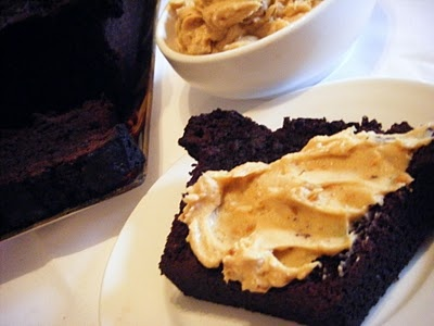 ... : Double Chocolate Loaf With Peanut Butter Cream Cheese Spread Recipe