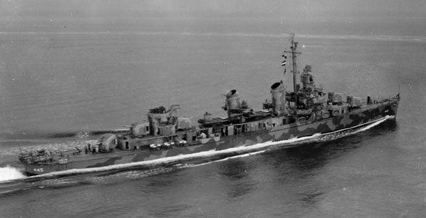 Jarvis Island WW2 | USS FLETCHER (DD-445 / DDE-445)