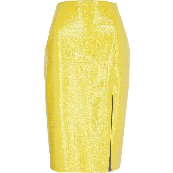 Best 25 Yellow Pencil Skirt Ideas On Pinterest Yellow
