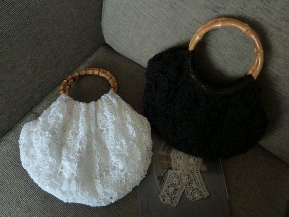 The Granny Bag  In Great Antique Crochet by Aimezvousclassique