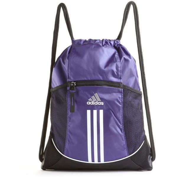 Adidas Gym Bag Alliance Sport Sackpack 16 Liked On Polyvore Featuring Bags