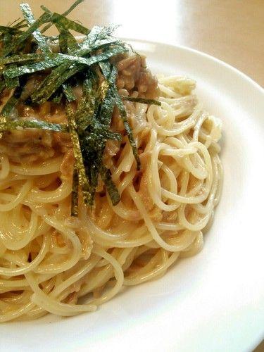 Addictive ☆ Natto and Tuna Pasta
