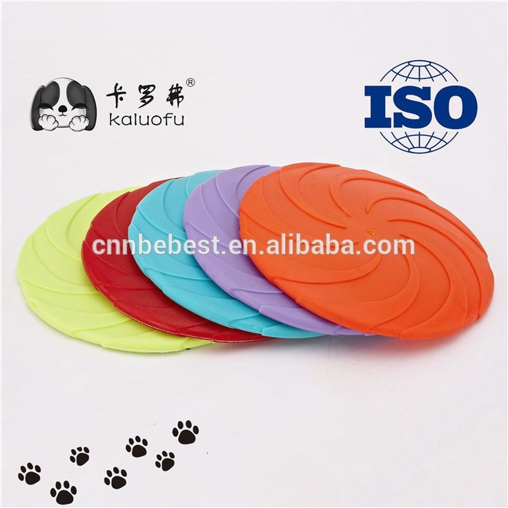 Medium Large Pet Plastic Frisbee Durable Dog Flying Discs