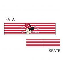 Bentita Minnie Mouse 3 - rosu/alb