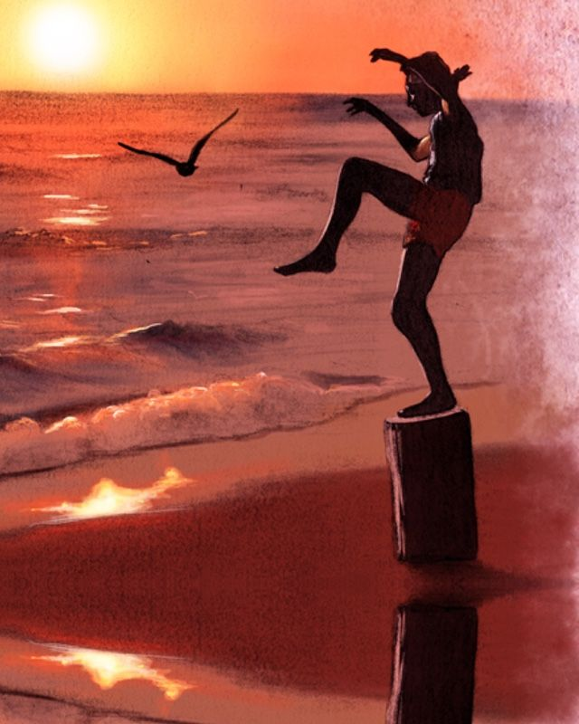 This week, I was sent a piece of Karate Kid tribute art that was created by Ignacio RC. This was one of my favorite movies growing up, and it's one of those films that I don't see a lot of fan art for, so it's always cool when something like this pops up online;I've gotta share it! Also,