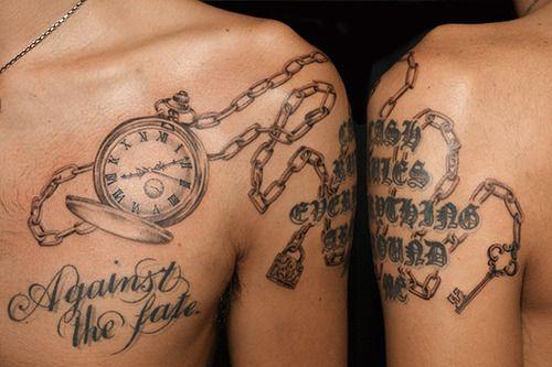 懐中時計 Pocket Watchのタトゥー Tattoo