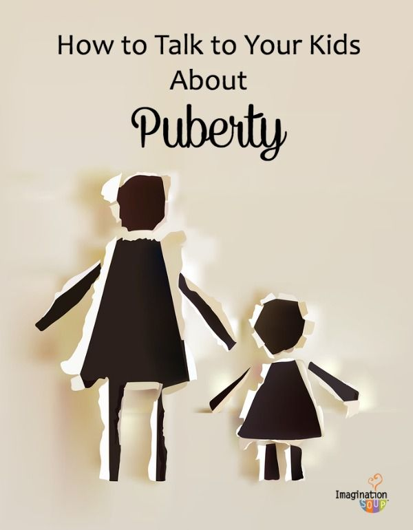 why you should talk to your kids about puberty (and not wait for the school to do it)