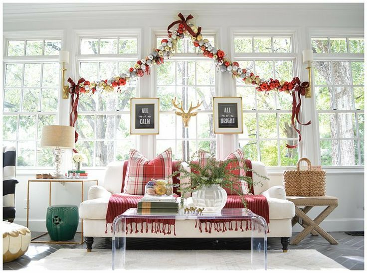 Holiday Ornament Garland Tutorial