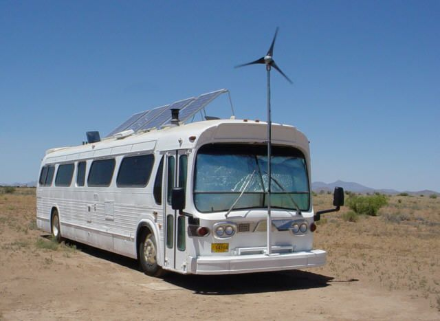 A website dedicated to a bus conversion experience