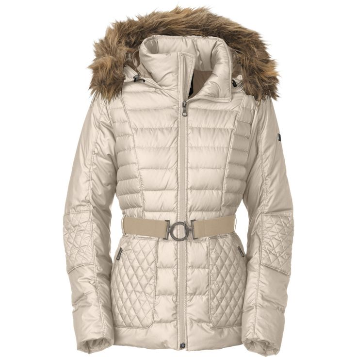 Vintage White The North Face Parkina Down Jacket - Women's | Backcountry.com