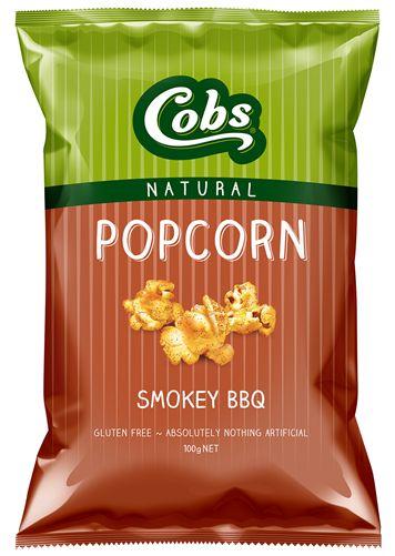 Smokey BBQ Popcorn