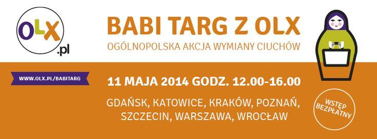BABI TARG Z OLX Szczegóły i formularz zapisów: www.olx.pl/babitarg