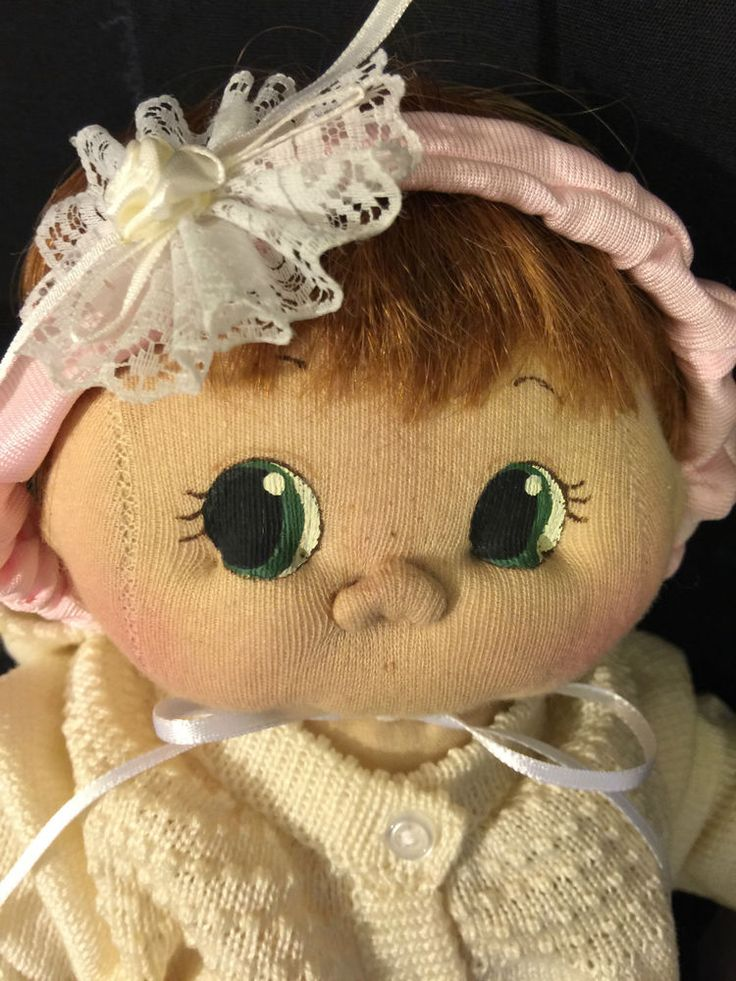 JAN SHACKELFORD DOLL 17'' TALL''COTTAGE BINKY BABY'' #56 JULY 20TH 1995 SIGNED