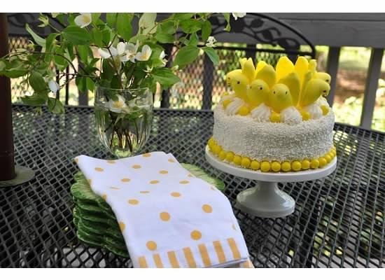 Easter Cake Decorating Ideas With Peeps 52227 Peeps Cake K