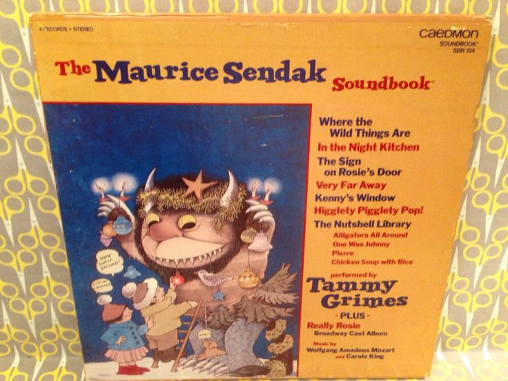 The Maurice Sendak 4LP Soundbook Performed by Tammy Grimes Caedmon Where the Wild Things Are Rare Vinyl Record Boxed Set