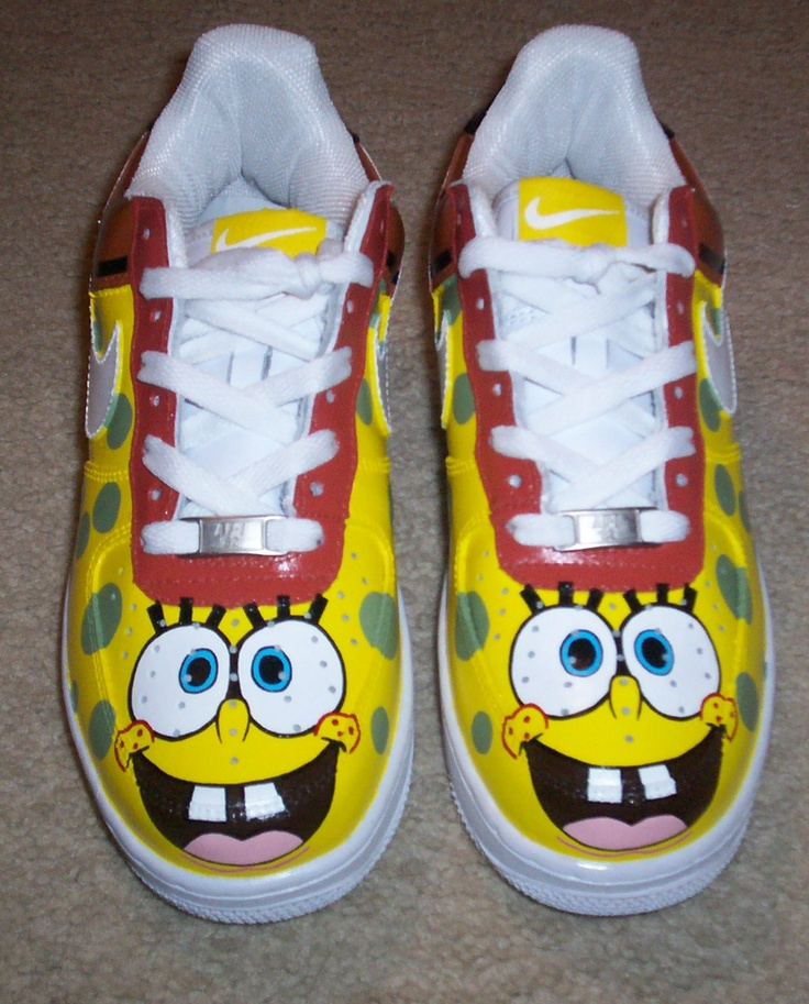 SpongeBob SquarePants Air Force Ones