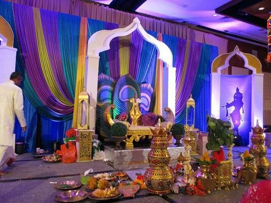 Beautiful peacock themed south indian wedding Wedding