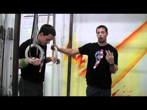 ▶ The Again Faster Mic'd Instructor - Kipping Ring Dips - YouTube - I just can't figure this out...