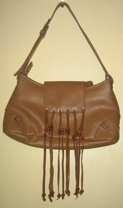 DIY TUTORIAL..leather fringe handbag..satchel..torba z frędzlami DIY