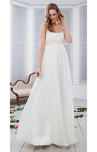 Prairie Daisy Silk Maternity Gown by Tiffany Rose