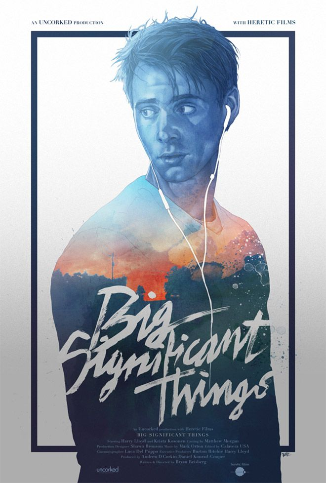 Big Significant Things by Gabz - Illustrated Posters with Double Exposure Effects