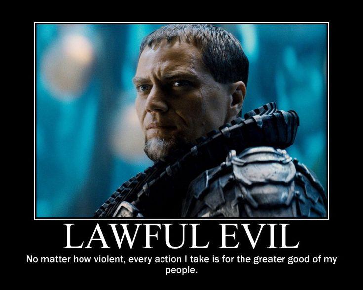 Lawful Evil General Zod by 4thehorde.deviantart.com on @DeviantArt