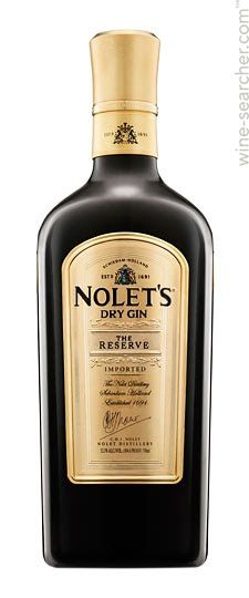 the most expensive Gin in the World: Nolet's The Reserve Dry Gin, Netherlands