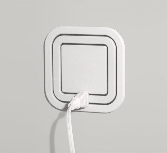 Node Electric Outlet eliminates the need for a power strip. Just plug it in anywhere on the square! - crazy!