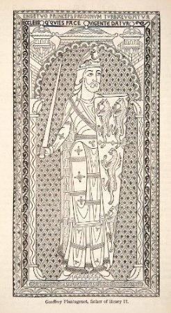 1878 Wood Engraving Enamel Effigy Geoffrey PlantagenetGeoffrey Plantagenet, Wood Engraving, Effigy Geoffrey, Enamels Effigy, Families Trees, Plantagenet Dynasty, Engraving Enamels, 1878 Wood