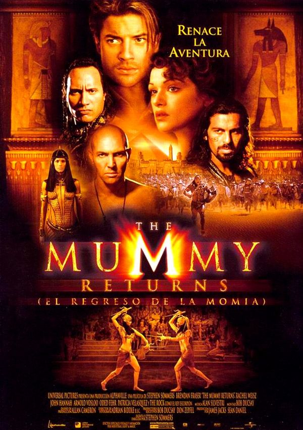 El Regreso de la Momia / The Mummy Returns (2001) Stephen Sommers