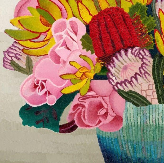 Dianne's Bouquet, oil on canvas, Elisabeth Howlett, 2011