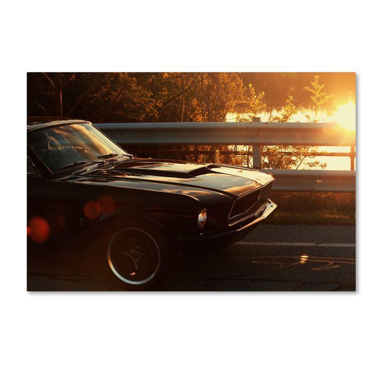 Trademark Jason Shaffer '67 Mustang' Canvas Art
