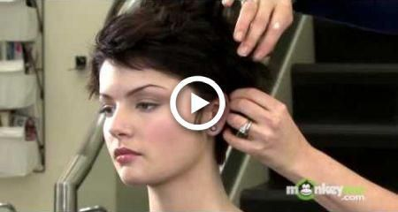 Short Hair Style – Formal Updo #hair #wedding #hairstyles #reallyShorthair