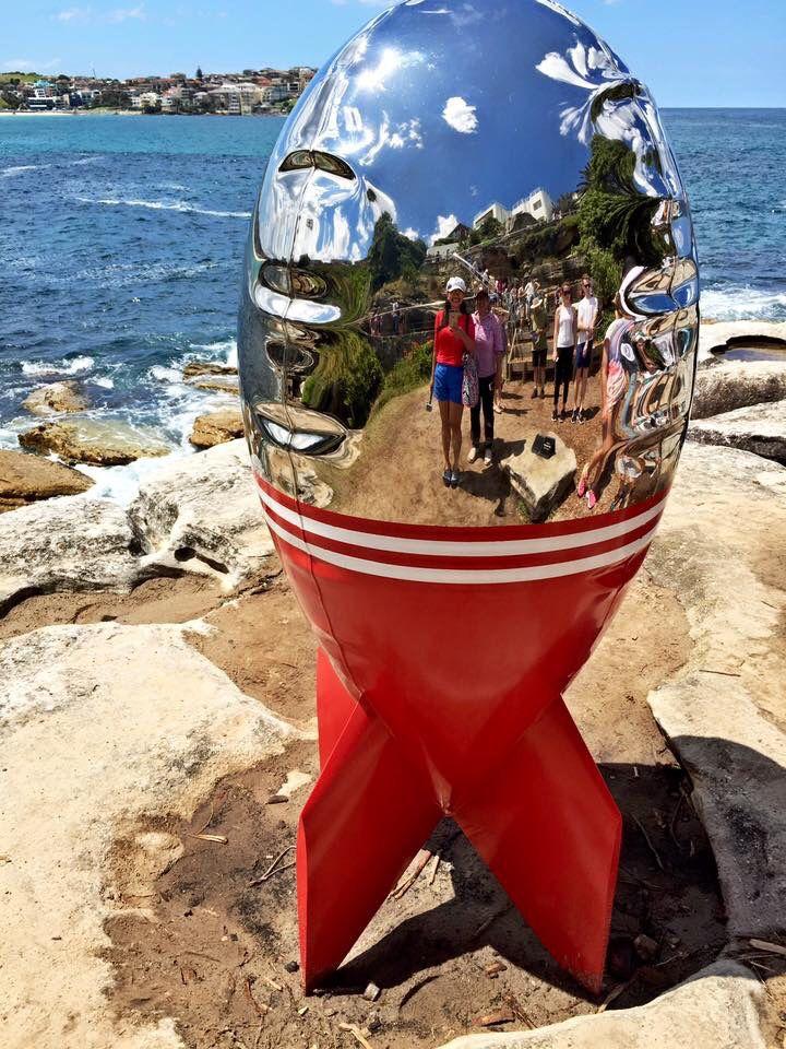 Bondi beach - sculptures by the sea