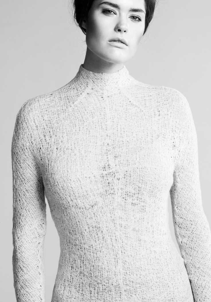 Heidi Paula - Winner of the Young Vision Award 2011. NO.1 knitted silk/wool dress by Heidi Paula, TEKO | muuse.com