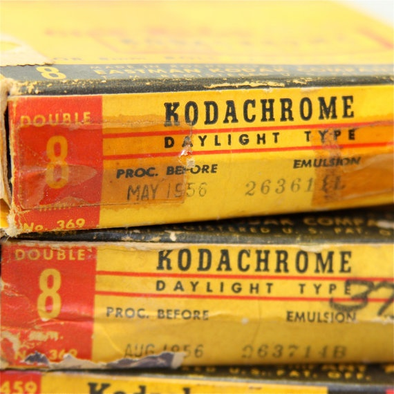 8mm kodachrome film from the 1950s