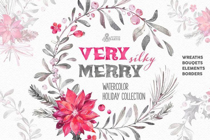 5-very-merry-silky-watercolor-bundle