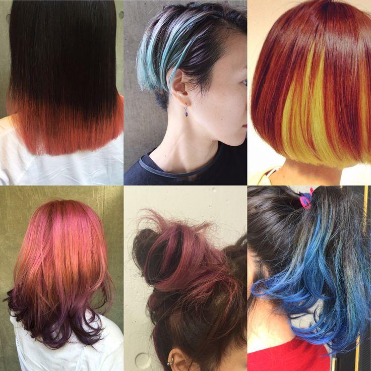 秋ヘアカラーは ツートン グラデーション で欲張る 2色使いが新常識 Hair ヘアカラー ヘアカラー ツートン 髪 色