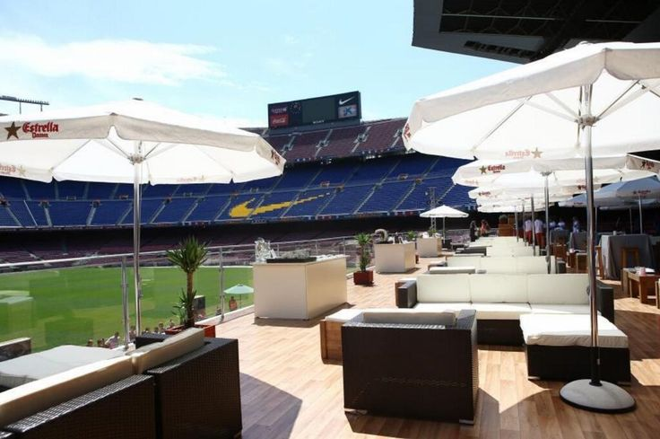View of the new stadium fan area at the NFL stadium of Chargers