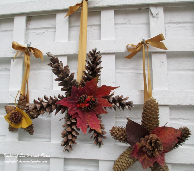 Making Natural Christmas Decorations: Pin On Our Fairfield Garden