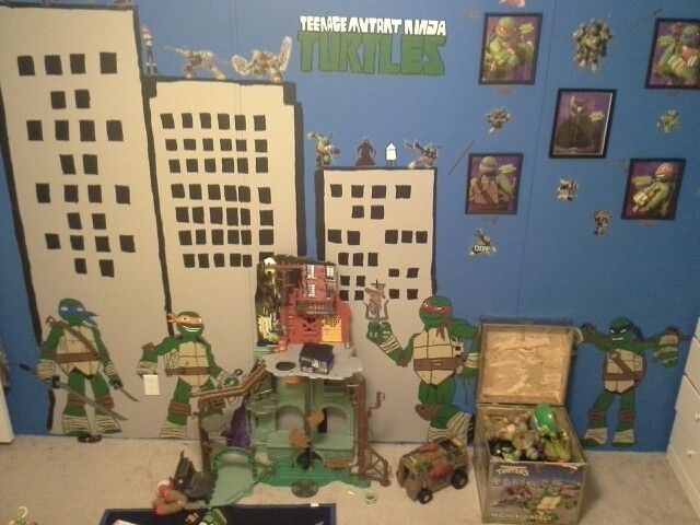 18 best Ninja Turtles Bedroom images on Pinterest | Kid bedrooms ...