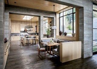 Modern Kitchen by Denise Kuriger and Scott Mitchell in Malibu, California