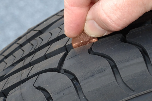how to measure tire tread depth lawnmowertires blog pinterest. Black Bedroom Furniture Sets. Home Design Ideas