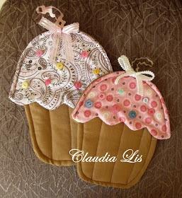 Tutorial Manopla Cupcake