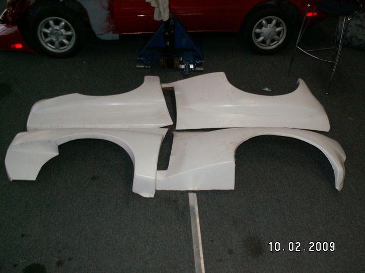 vw rabbit racing parts | VW A1 Rabbit 8 Piece Race Kit
