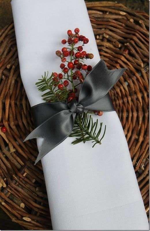 Come realizzare dei portatovaglioli natalizi (Foto 12/40) | PourFemme