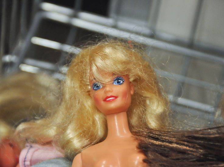 an old barbie searching for a new owner