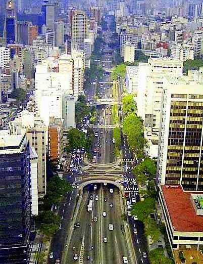 Venezuela, Caracas, Avenida del Libertador -