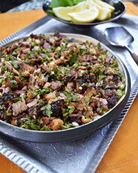 Everyone knows how much I love Filipino food. I especially adore sisig. New Year's Eve is the perfect time to impress your friends with one of the world's truly classic dishes.